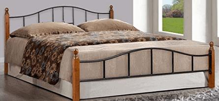 FurnitureKraft Kansas Metal Queen Size Double Bed