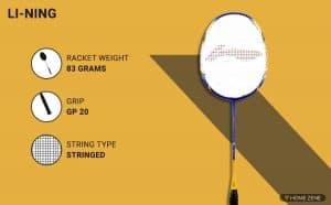 Li-Ning Super Series SS-68 Strung Badminton Racquet