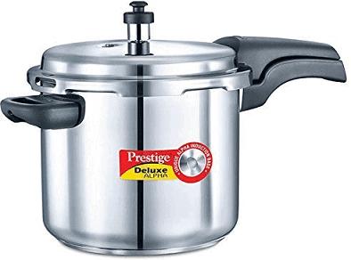 Prestige Deluxe Alpha Stainless Steel Pressure Cooker