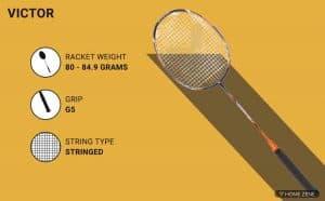 Victor Arrow Power 9900 G5 Badminton Racket
