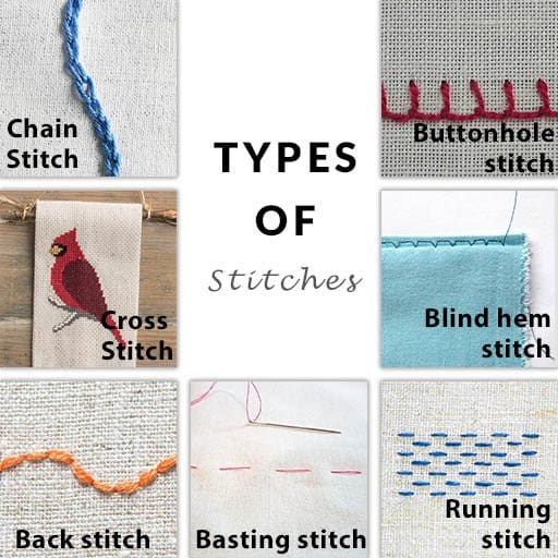 Stitches Types
