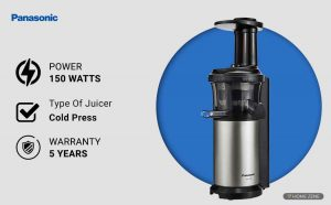 Panasonic MJ-L500 Cold Press Juicer