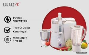 Sujata Powermatic Plus 900 Juicer