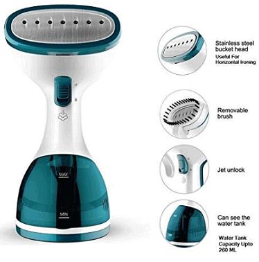 WisTec Techne Direct 1000-Watts Handheld Garment Steamer