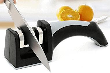 ZHAOLIDA 2 Slots Knife Sharpener Tool