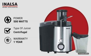 Inalsa 500-Watt Juicer