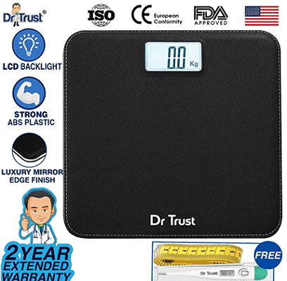Dr Trust Absolute Leather Personal Digital Scale