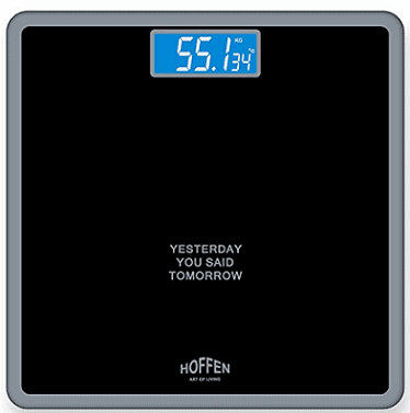 Hoffen Digital Elecronic LCD Personal Body Fitness Weighing Scale