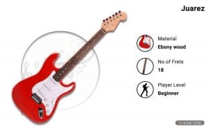 Juarez JRZ-ST01 6-String Electric Guitar