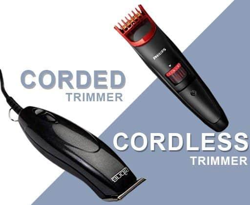 Cord vs Cordless Trimmer