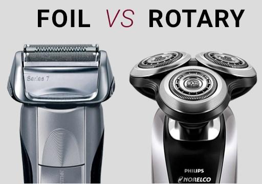 Foil vs Rotary Trimmer