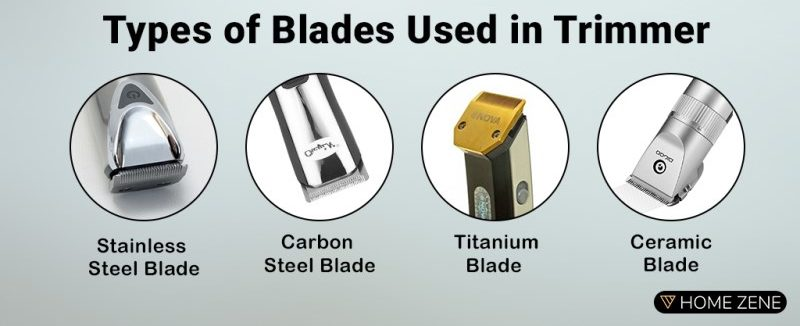 Blade material type in Trimmer