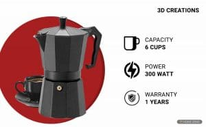 3D Creations Coffee Machine