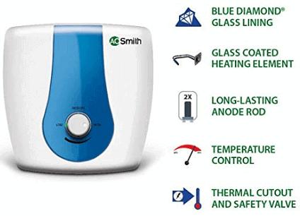 AO Smith HSE-SDS-15 15-Litre 2000-Watt Vertical Water Heater