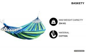 Baskety Double Person Ultralight Camping Hammock