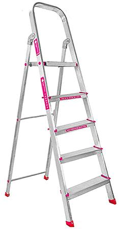 Casa Copenhagen 5-Step Foldable Aluminium Ladder