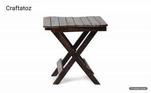 Craftatoz Multipurpose Wooden Folding Table