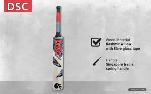 DSC Scorer Kashmir Willow Cricket Bat Short Handle Mens