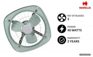 Havells Ventilair DSP 200 mm Exhaust Fan