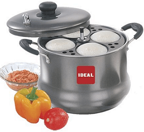 Ideal Nonstick 6 Plates Idli Maker