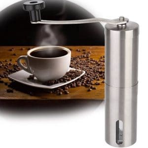 LWVAX Manual Coffee Hand Grinder