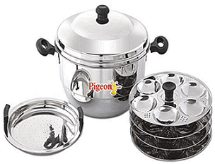Pigeon Hot 24 Idly Pot with Steamer