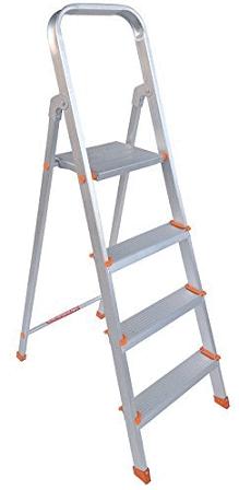 PlutoMax 4 Step Foldable Aluminium Ladder