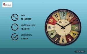 Amazon Solimo Wall Clock