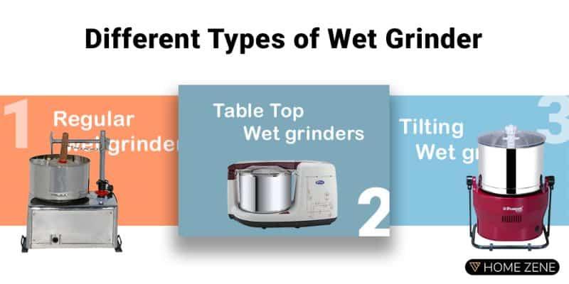 Wet Grinder Types