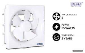 Luminous Vento Delux 200 mm Exhaust Fan