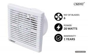 Orpat Ventilation 6 inch Exhaust Fan