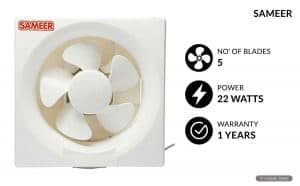 Sameer 250 mm Air Exhaust Fan