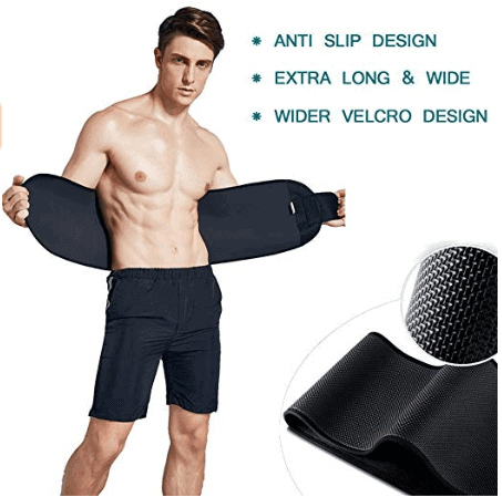 ADA Ab Belt Trimmer for Weight Loss Faster