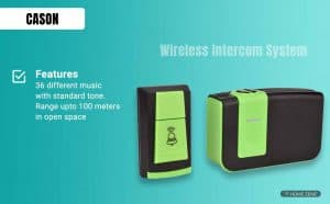 Cason (Device of C) - Wireless Remote Bell
