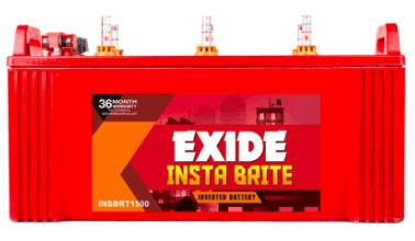 Exide 150Ah New Instabrite Inveter Ups Battery