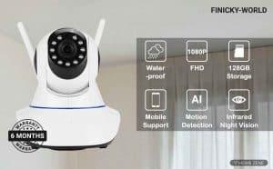 Finicky World V380 Wireless HD IP Security Camera