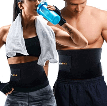 FIT PICK Sweat Slim Belt for Women