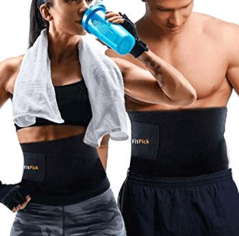 FIT PICK Sweat Slim Belt for Women