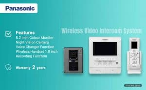 Panasonic VL-SW251SX Wireless Video Intercom System