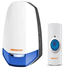 Press Fit Echo-V Auto-Learning Wireless Bell