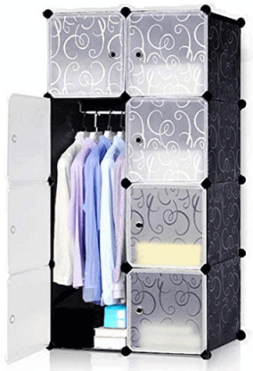 Styleys Plastic 8 Cube Organizer