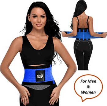 Tdas sweat slim belt for men women