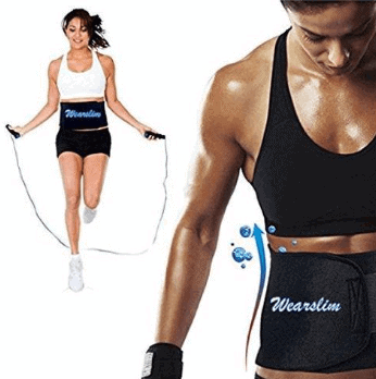 Wearslim Sweat Waist Belt
