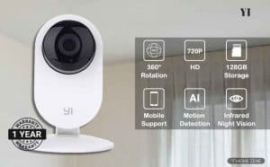 YI 87001 Home Camera Wireless IP Security Surveillance System