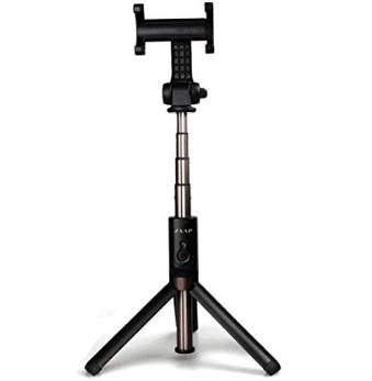 Zaap Aluminium Bluetooth Monopod Selfie Stick With In-Built Tripod For All Smartphones