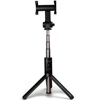 Zaap Aluminium Bluetooth Monopod Selfie Stick With In-Built Tripod For All Smartphones