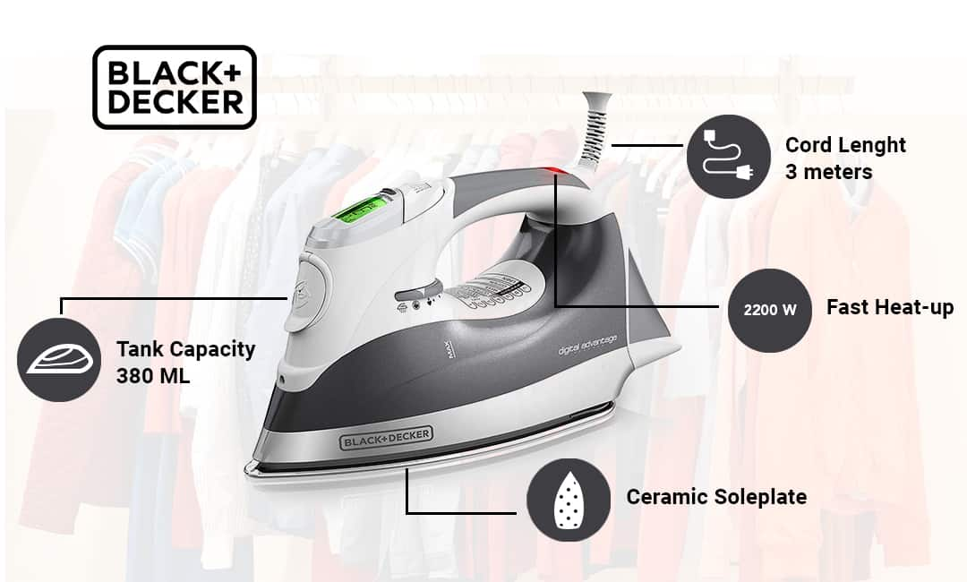 Black & Decker Steam Iron