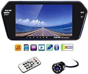 Generic 7 Inch Full HD Touch Bluetooth LED Screen Reverse Camera