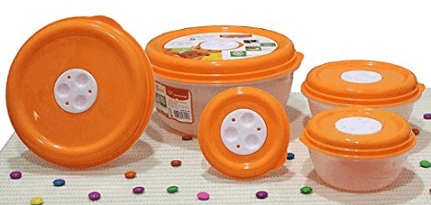 Princeware Fresh Ven Bowl Package Container Set