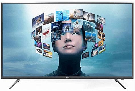 Sanyo 107.95 cm 4K UHD IPS LED SmartAndroid TV